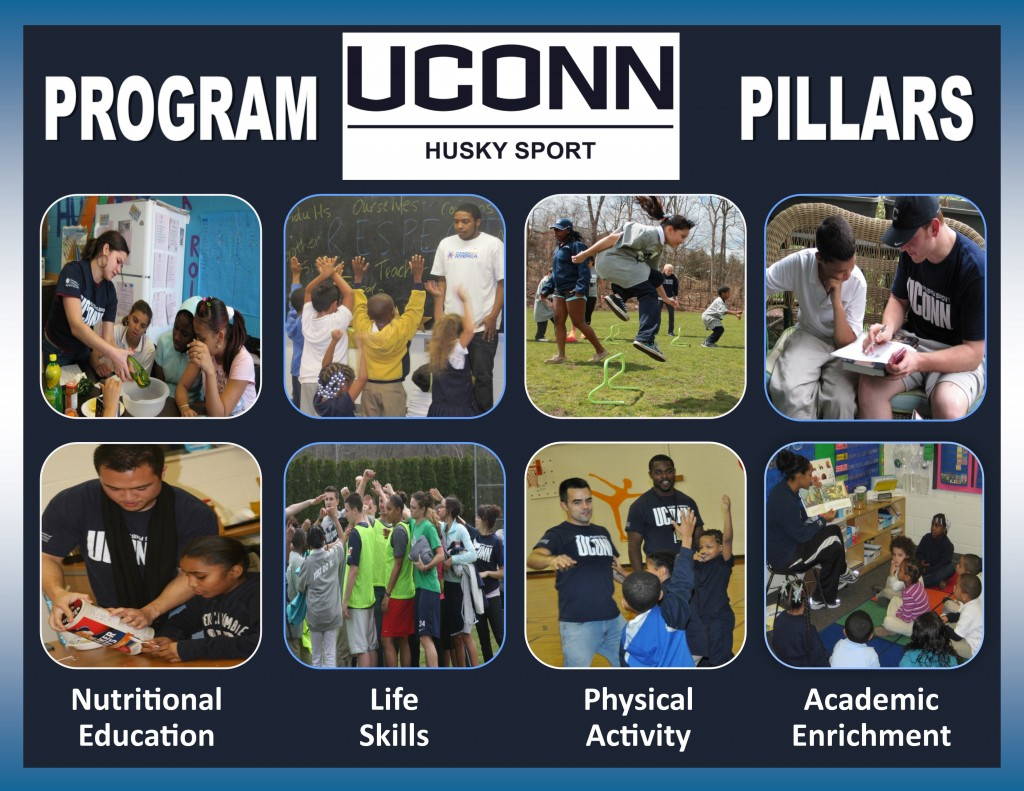 Husky sport program pillars