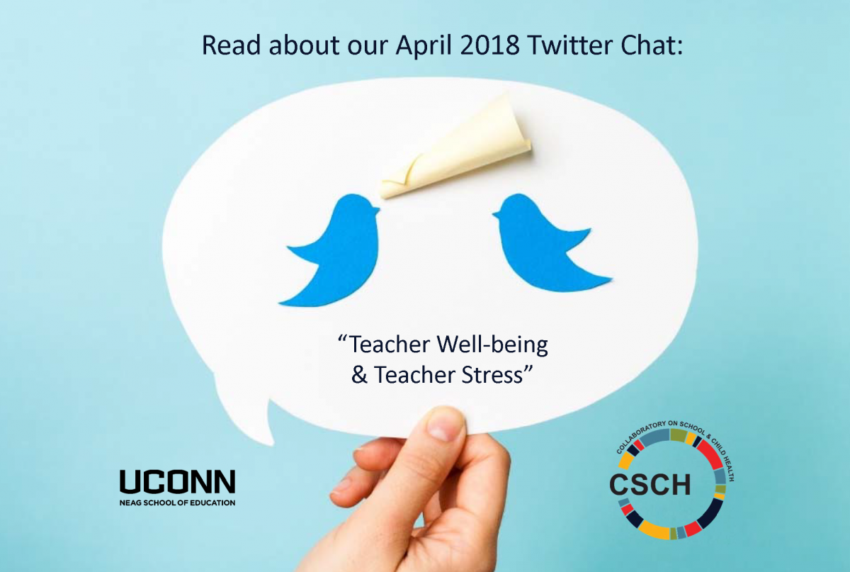 Read about our April 2018 Twiter Chat (birds talking)