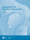 Assessment for Effective Intervention Cover