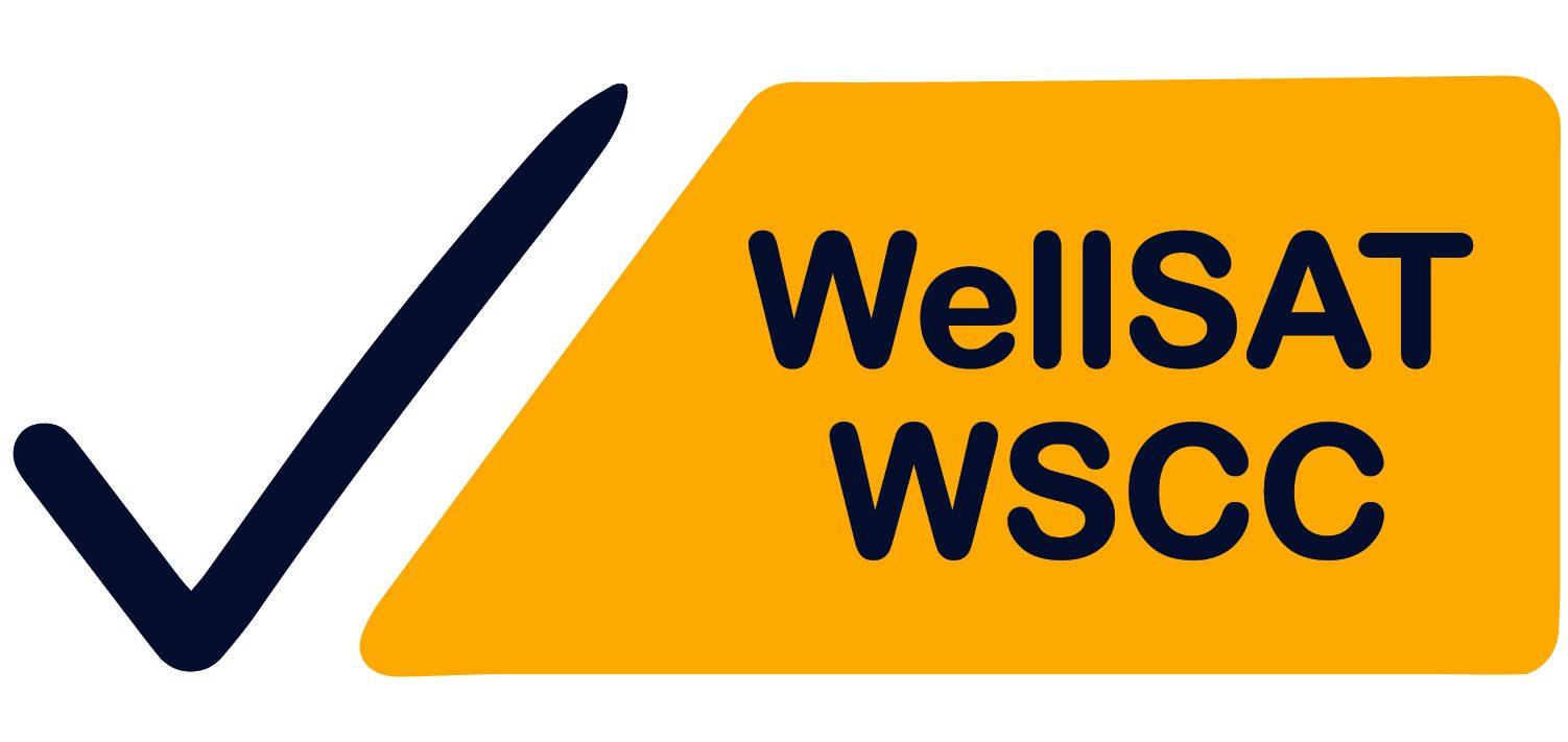 WellSAT WSCC Logo with checkmark
