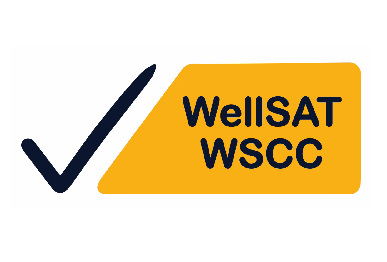 WellSAT WSCC Logo with checkmark