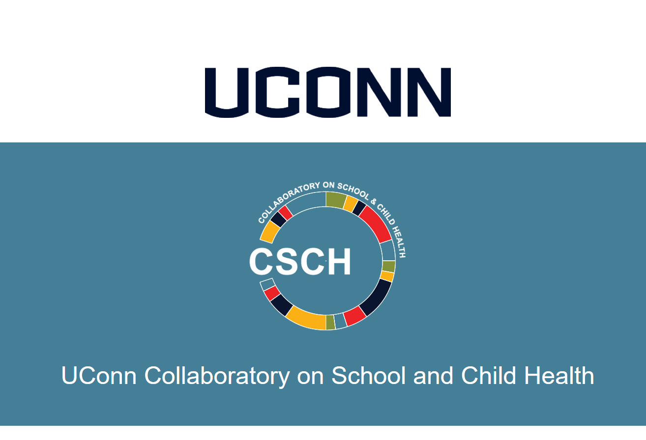 UConn Collaboratory on School and Child Health - banner and CSCH logo