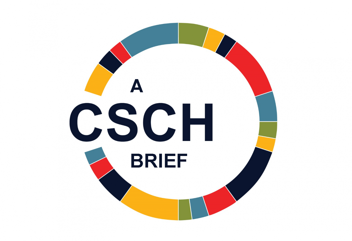 Text A CSCH Brief within color