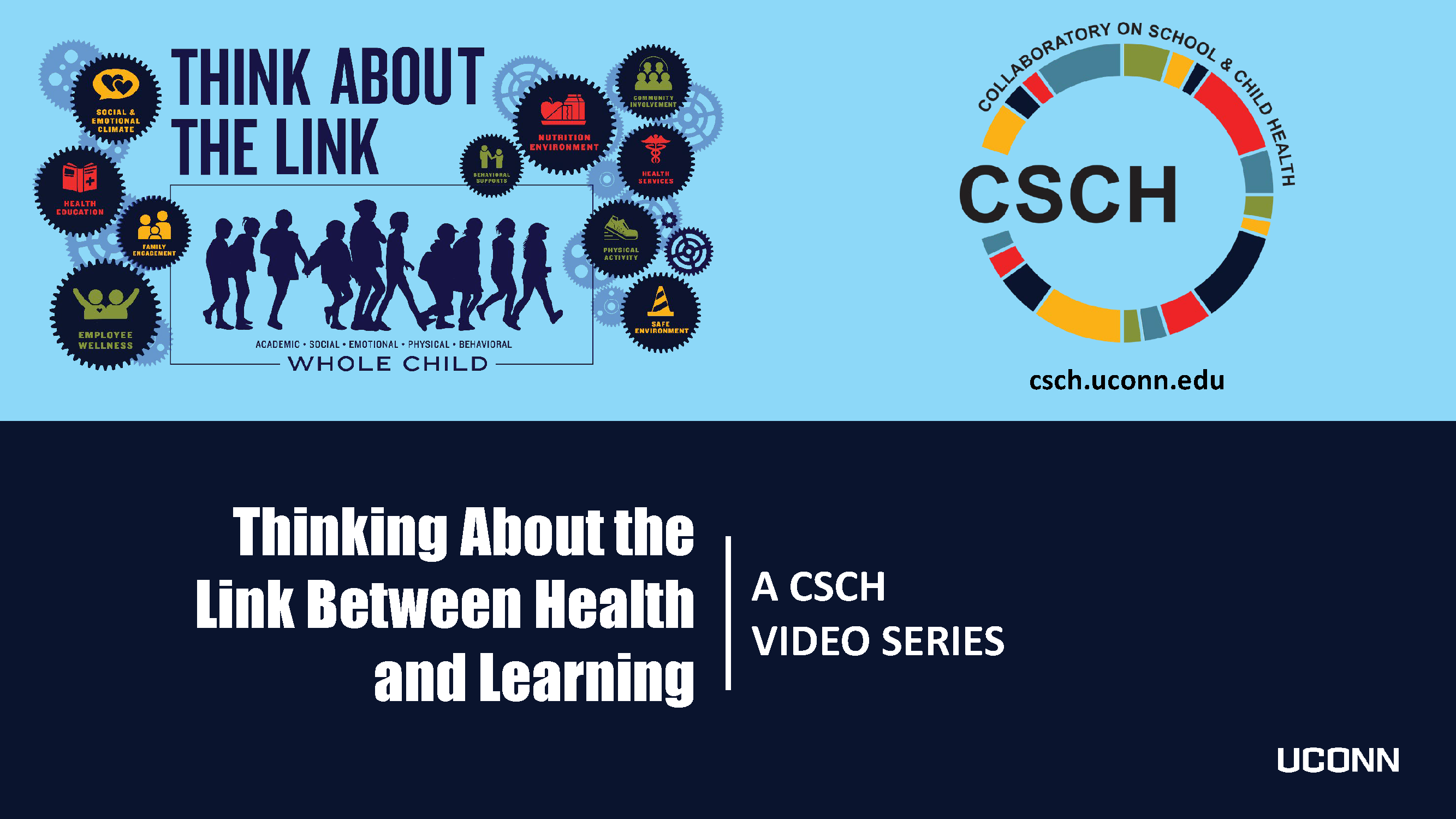 Thinking About the Link Between Health and Learning Video